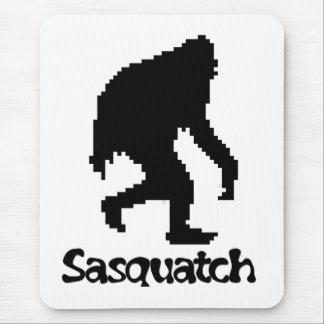 Pixel Art Sasquatch Mouse Pad