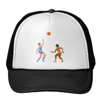 Pixel basketball 1978 mesh hats