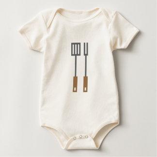 Pixel bbq equipment baby bodysuit