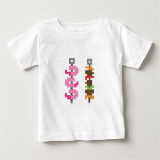 Pixel bbq food tshirt