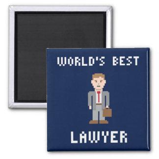 Pixel Best Lawyer Magnet