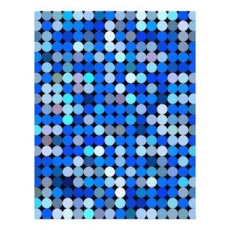 Pixel blue, Aqua Letterhead