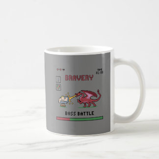 Pixel Boss Battle Mug