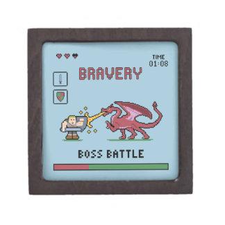 Pixel Boss Battle Small Box