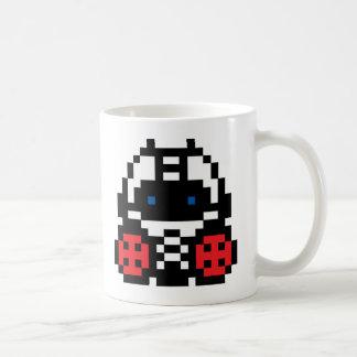 Pixel Boxer Classic White Coffee Mug