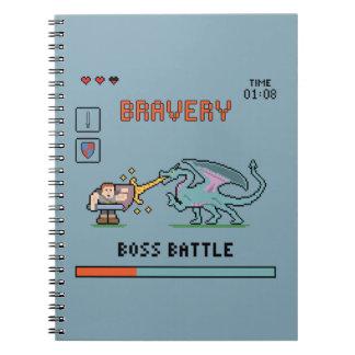 Pixel Bravery Notebook