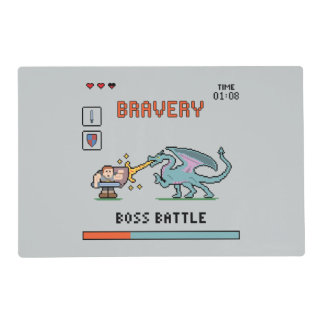 Pixel Bravery Placemat