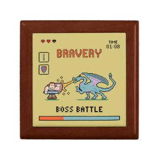 Pixel Bravery Square Box