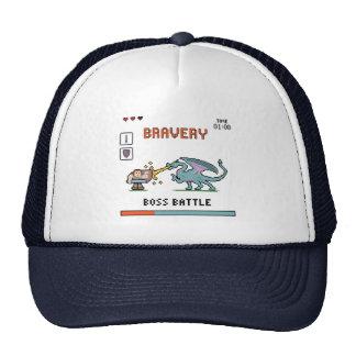 Pixel Bravery Trucker Hat