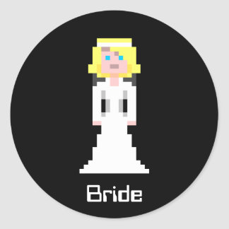 Pixel Bride - Blonde Stickers