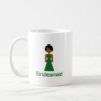Pixel Bridesmaid 2 Classic White Coffee Mug