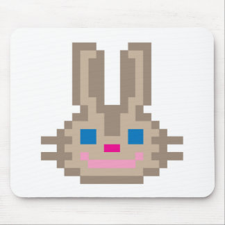 Pixel Bunny Rabbit II Mouse Pad
