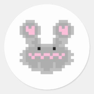 Pixel Bunny Rabbit Sticker