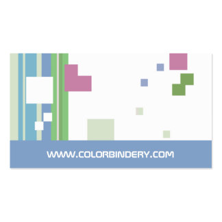 Pixelated business cards templates zazzle for Business card pixels