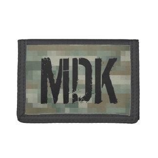 Pixel camouflage monogrammed wallet for men