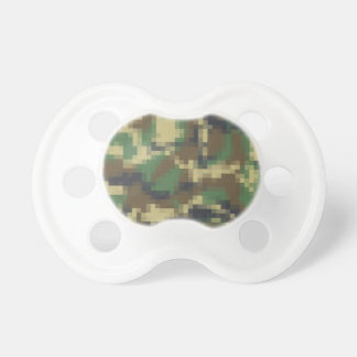 Pixel Camouflage Pacifier