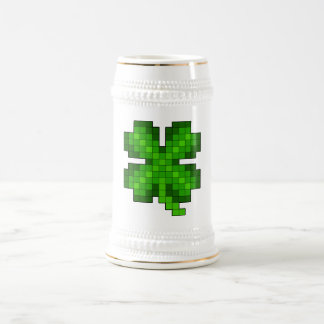 Pixel Clover Mug