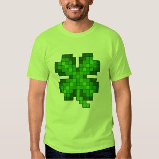 Pixel Clover Shirt
