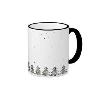Pixel Coffee Mugs