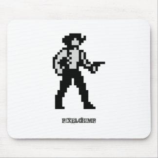 Pixel Cowboy Mouse Pad