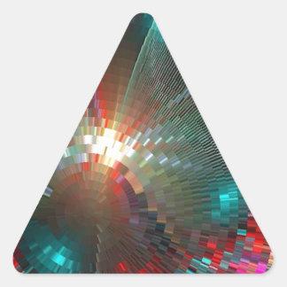 pixel crash triangle stickers