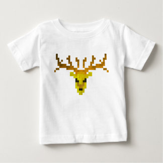 Pixel Deer Baby T-Shirt