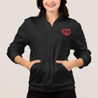 pixel del corazón del rn chaquetas