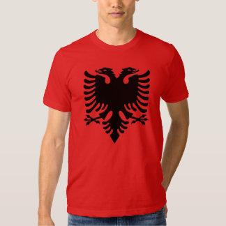 Pixel del gris de Eagle del albanés Camisas