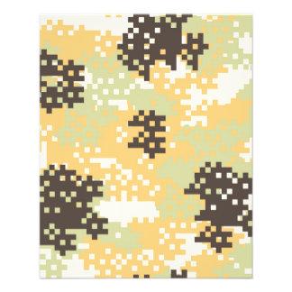 Pixel Desert Camouflage Flyer