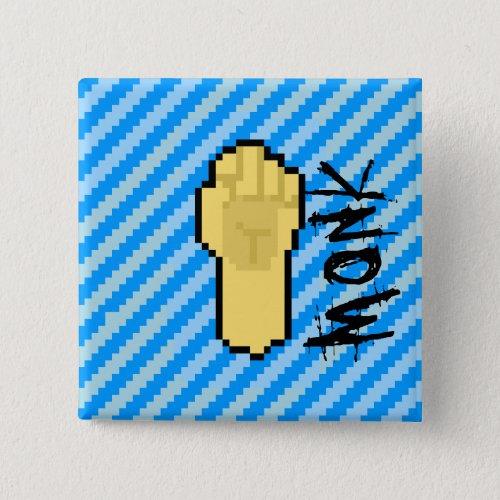 Pixel DnD Class Monk Button