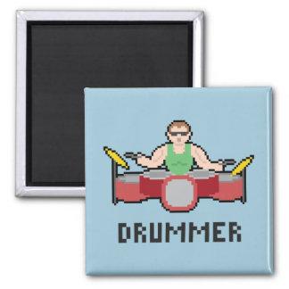Pixel Drummer Magnet