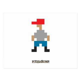 Pixel_Dude Postcard