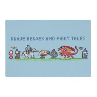 Pixel Fairy Tale Placemat