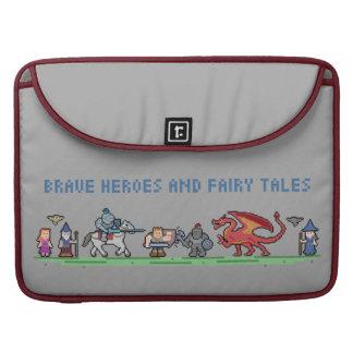 Pixel Fairy Tales Macbook Pro 15'' Sleeve MacBook Pro Sleeves