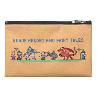 Pixel Fairy Tales Travel Accessory Bag