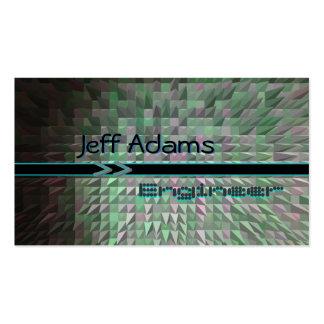 Pixel fantástico/tarjetas del ingeniero/de visita tarjetas de visita