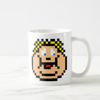 Pixel Fat Kid Classic White Coffee Mug