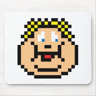Pixel Fat Kid Mouse Pad