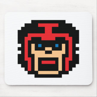 Pixel Football Player Mouse Pad