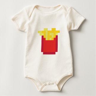 Pixel fries baby bodysuit