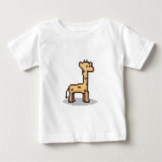 Pixel Giraffe Baby T-Shirt