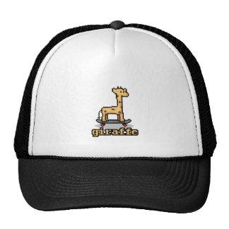 Pixel Giraffe Mesh Hat
