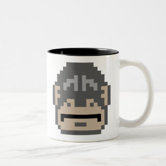 Pixel Gorilla Two-Tone Coffee Mug