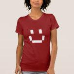 Pixel grande de la sonrisa camiseta