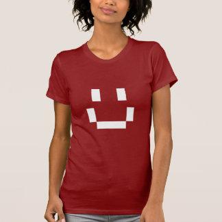 Pixel grande de la sonrisa playeras