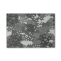 Pixel Grey & White Urban Camouflage Post-it Notes
