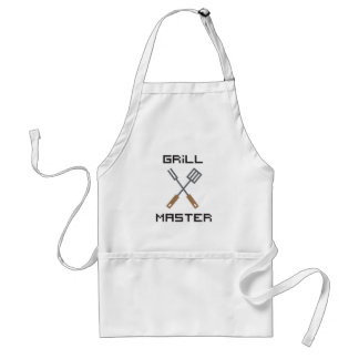 Pixel Grill Master Adult Apron