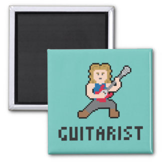 Pixel Guitarist Magnet