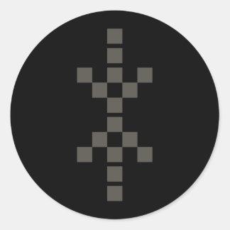 Pixel Hand of Eris sticker