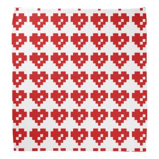 Pixel Heart 8 Bit Love Bandana
